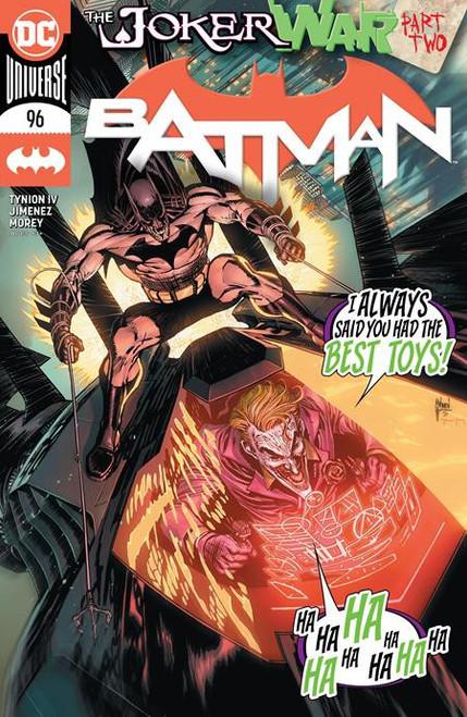 DC Batman #96 Joker War Comic Book [First appearance of Clownhunter]