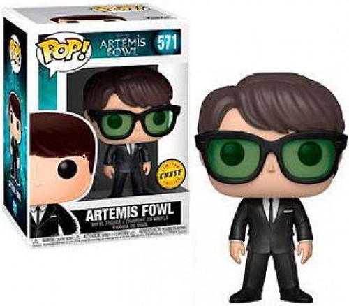 Funko POP! Disney Artemis Fowl Vinyl Figure #571 [Chase Version, Wearing Glasses]