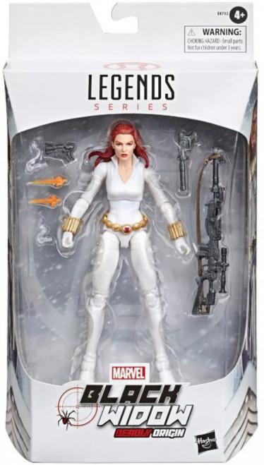 Marvel Legends Deadly Origin Black Widow Exclusive Action Figure [White Costume]