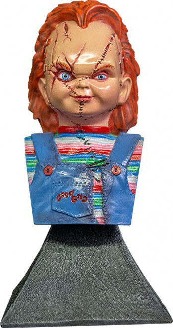 Child's Play Bride of Chucky Chucky 6-Inch Mini Bust (Pre-Order ships January)