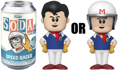 Funko Vinyl Soda Speed Racer Limited Edition of 5,000! Vinyl Figure [1 RANDOM Figure! Look For The Chase!]