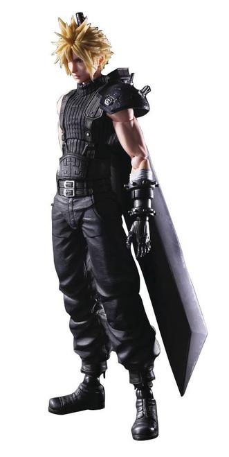 Play Arts Kai Final Fantasy VII Remake Cloud Strife Action Figure