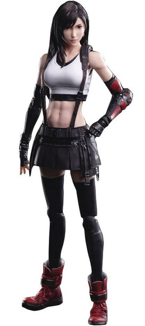 Play Arts Kai Final Fantasy VII Remake Tifa Lockhart Action Figure (Pre-Order ships October)