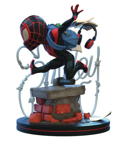 Marvel Q-Fig Elite Spider-Man 4-Inch Diorama Figure [Miles Morales]