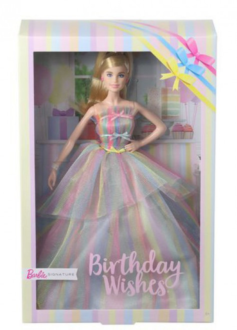 Signature Birthday Wishes Barbie Doll