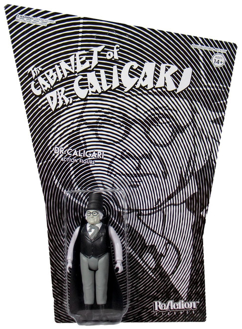 ReAction The Cabinet of Dr. Caligari Dr. Caligari Action Figure