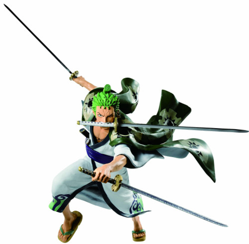One Piece Ichiban Zorojuro 7.4-Inch Collectible PVC Figure [Full Force]
