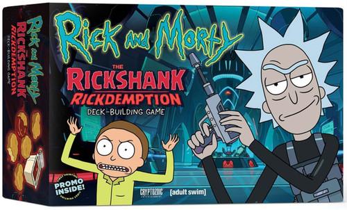 Rick & Morty The Rickshank Rickdemption Deck Building Game