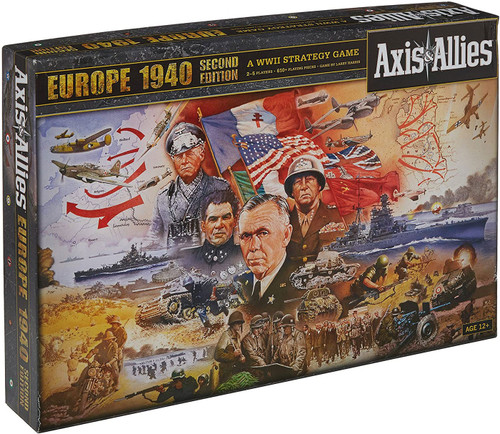 Axis & Allies Europe 1940 Second Edition Board Game