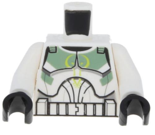 LEGO Star Wars Clone Trooper with Sand Green Markings Loose Torso [Loose]