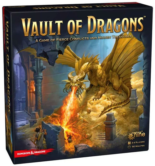 Dungeons & Dragons Vault of Dragons Board Game