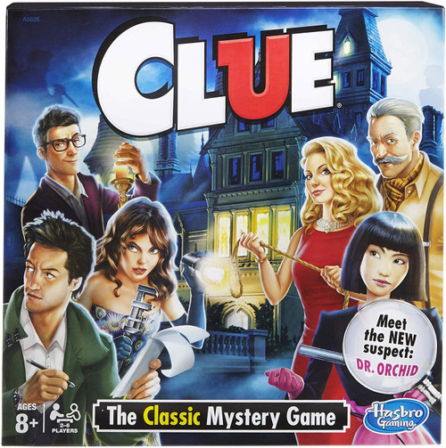 Clue Board Game [with Dr. Orchid]