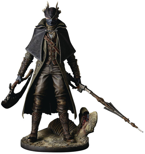 Bloodborne Hunter Collectible PVC Figure [Open Package] [Open Package, Mint Contents]