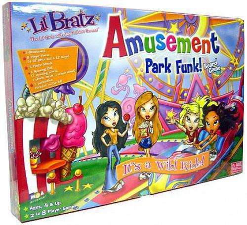 Lil' Bratz Amusement Park Funk Board Game