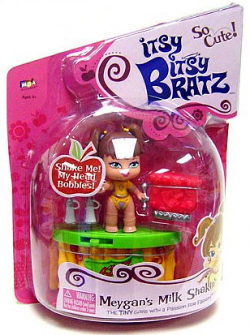 Itsy Bitsy Bratz Meygan's Milk Shakin' Mini Doll