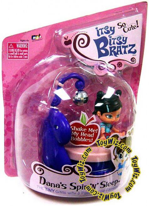 Itsy Bitsy Bratz Dana's Spin n' Sleep Mini Doll