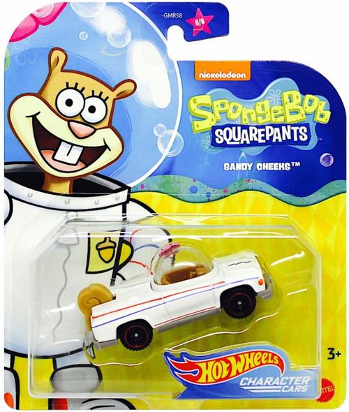 Hot Wheels Spongebob Squarepants Sandy Cheeks Diecast Character Car [2020]