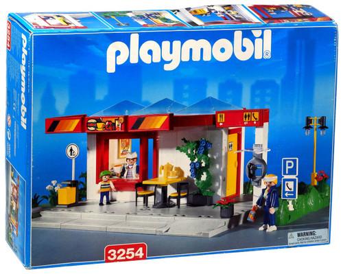 Playmobil Roadside Cafe Set #3254