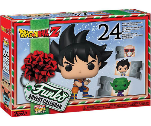 Funko Dragon Ball Z Advent Calendar [24 Mini Vinyl Figures, 2020]