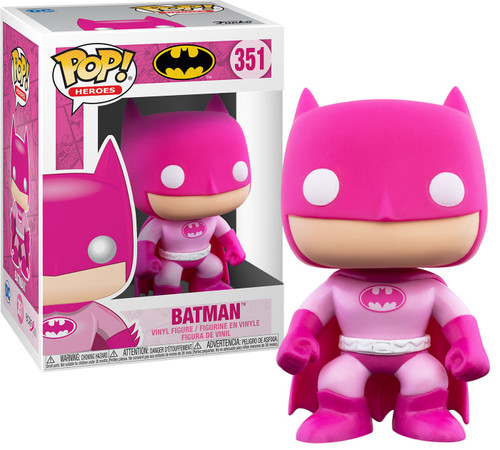 Funko DC Breast Cancer Awareness POP! Heroes Batman Vinyl Figure [Breast Cancer Awareness]
