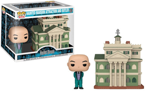Funko Disney POP! Towns Haunted Mansion Attraction & Butler Vinyl Figure #19
