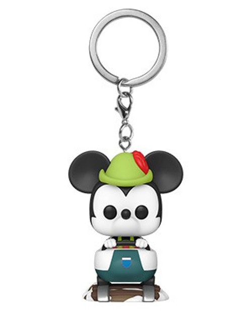 Funko Disneyland Resort 65th Anniversary Pocket POP! Matterhorn Bobsleds Attraction Keychain [with Mickey Mouse]