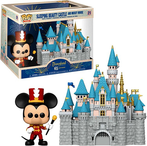 Funko Disney POP! Towns Sleeping Beauty Castle with Mickey Mouse Vinyl Figure #21