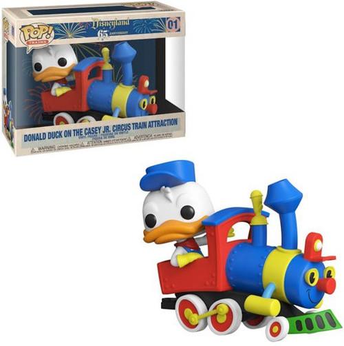 Funko Disneyland Resort 65th Anniversary POP! Trains Donald Duck on the Casey Jr. Circus Train Attraction Vinyl Figure #01