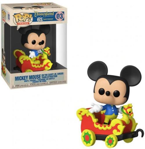 Funko Disneyland Resort 65th Anniversary POP! Disney Mickey Mouse on the Casey JR. Circus Vinyl Figure #03