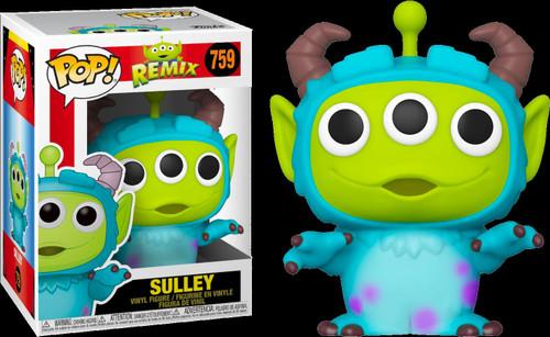 Funko Disney / Pixar Alien Remix POP! Disney Sulley Vinyl Figure