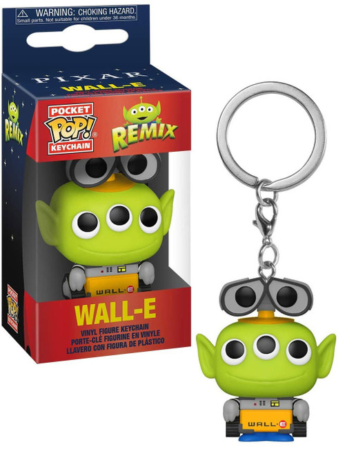 Funko Disney / Pixar Alien Remix Pocket POP! Wall-E Keychain