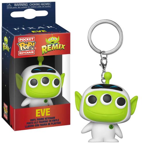 Funko Disney / Pixar Alien Remix Pocket POP! Eve Keychain