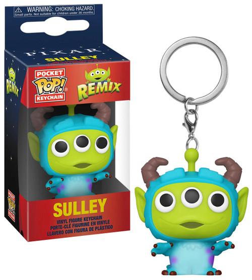 Funko Disney / Pixar Alien Remix Pocket POP! Sulley Keychain