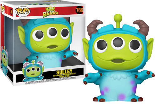 Funko Disney / Pixar Alien Remix POP! Disney Sulley 10-Inch Vinyl Figure [Super-Sized]