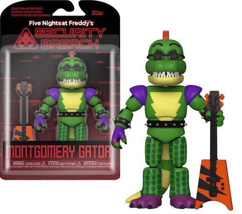 Funko Five Nights at Freddy's Security Breach Montgomery Gator Action Figure (Pre-Order ships January)