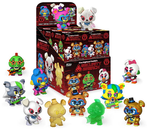 Funko Five Nights at Freddy's Mystery Minis Security Breach Mystery Box [12 Packs]
