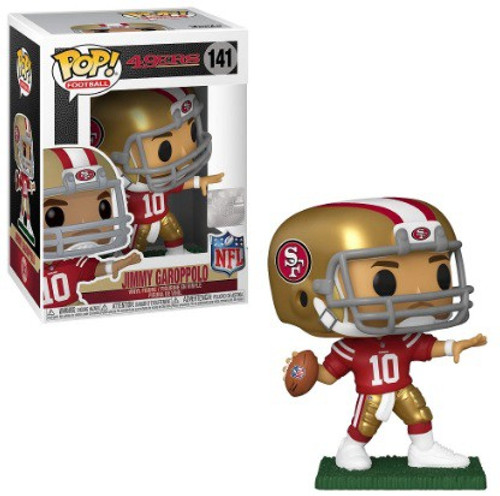Funko NFL San Francisco 49ers POP! Sports Football Jimmy Garoppolo Vinyl Figure #141