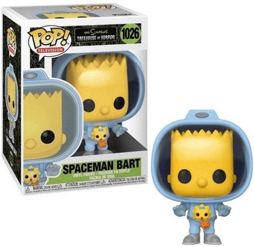 Funko The Simpsons Treehouse of Horror POP! Animation Bart with Chestburster Maggie Vinyl Figure