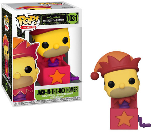 Funko The Simpsons Treehouse of Horror POP! Animation Homer Jack-In-The-Box Vinyl Figure #1031