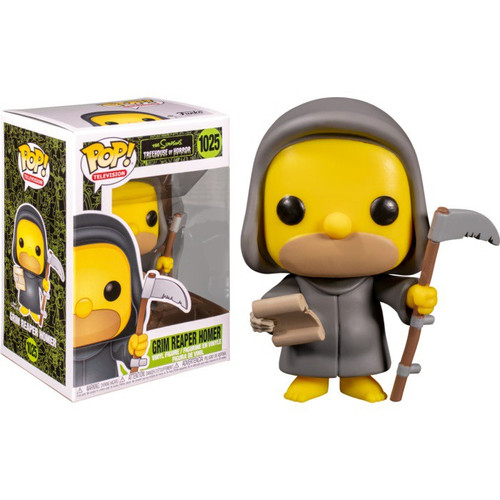 Funko The Simpsons Treehouse of Horror POP! Animation Reaper Homer Vinyl Figure