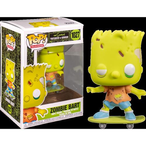 Funko The Simpsons Treehouse of Horror POP! Animation Zombie Bart Vinyl Figure #1027
