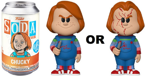Funko Child's Play Vinyl Soda Chucky Limited Edition of 15,000! Vinyl Figure [1 RANDOM Figure! Look For The Chase!]