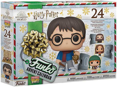 Funko Harry Potter Advent Calendar [24 Mini Vinyl Figures, 2020]