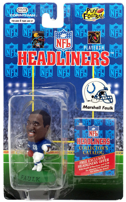 NFL Headliners Marshall Faulk Mini Figure [Damaged Package, Mint Contents]
