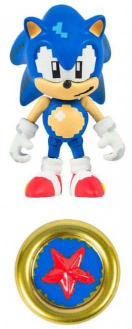 Sonic The Hedgehog Sonic Boom Pixelated Classic Sonic Action Figure [Loose]