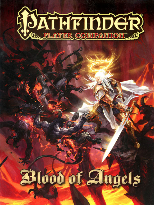 Pathfinder Player Companion Blood of Angels Roleplaying Book