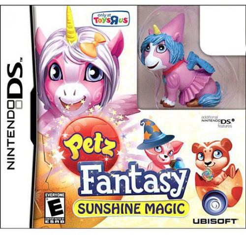 Nintendo DS Petz Fantasy Sunshine Magic Exclusive Video Game