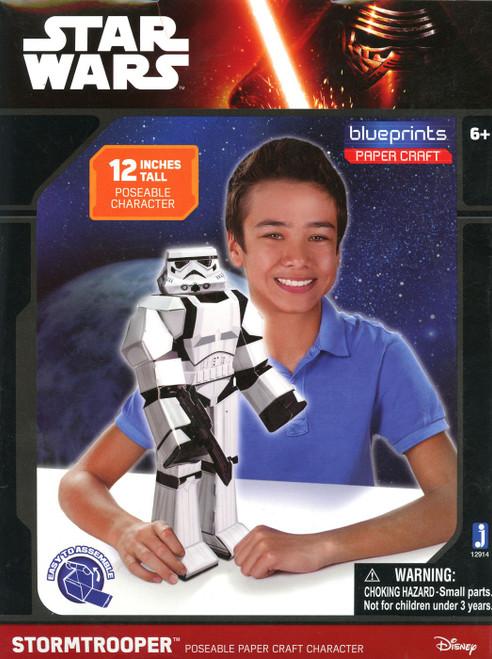 Star Wars Blueprints Stormtrooper Papercraft [Damaged Package]