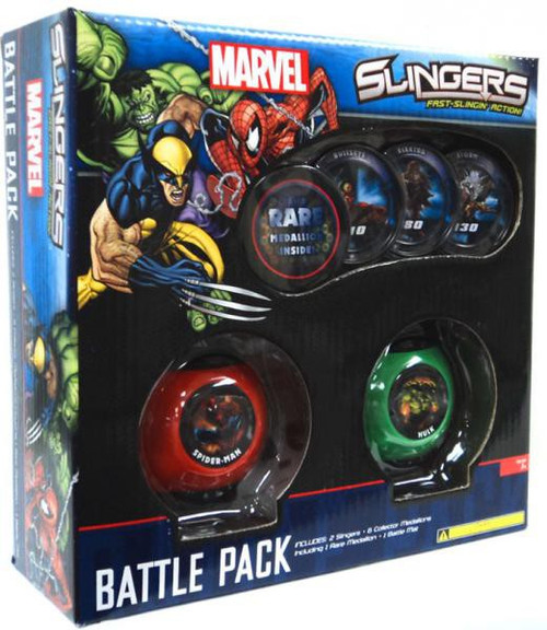 Marvel Slingers Battle Pack