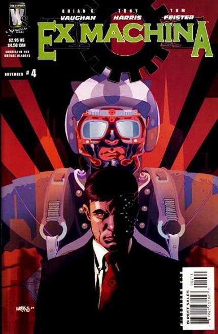 Wildstorm Ex Machina #4 Comic Book